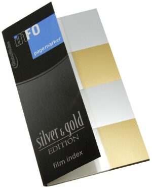 Page Marker silver & gold edition, film index