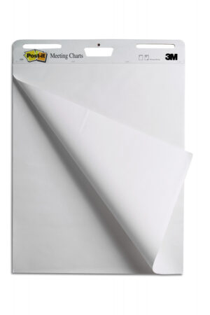 Samolepljivi flipchart blok blanko, 30l, , Post-it 559