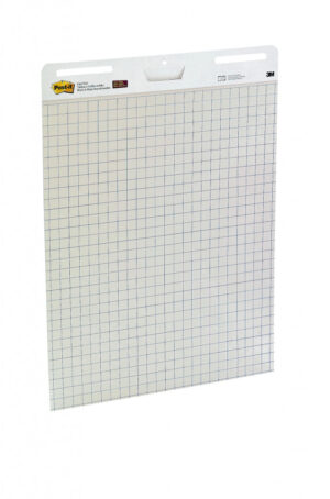 Samolepljivi flipchart blok karirani, 30l, , Post-it 559