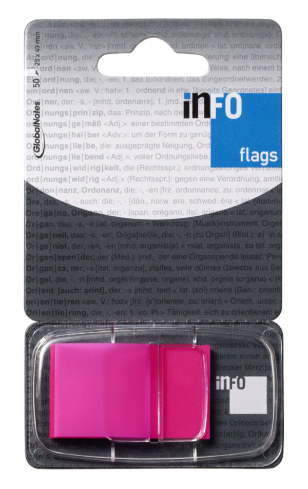 Page marker INFO FLAGS , 50l