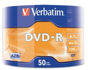 DVD R VERBATIM 1/50